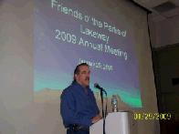 George Ferrie opens the annual meeting (click to enlarge)