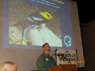 Bill Reiner speaking (click to enlarge)