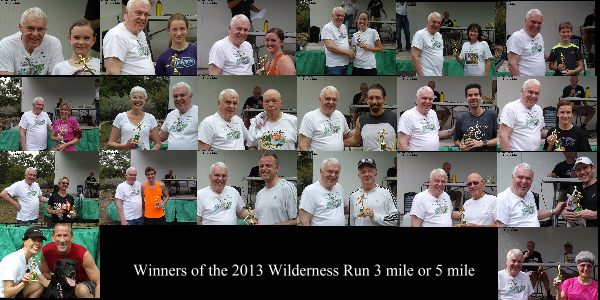 2013 Wilderness Run winners