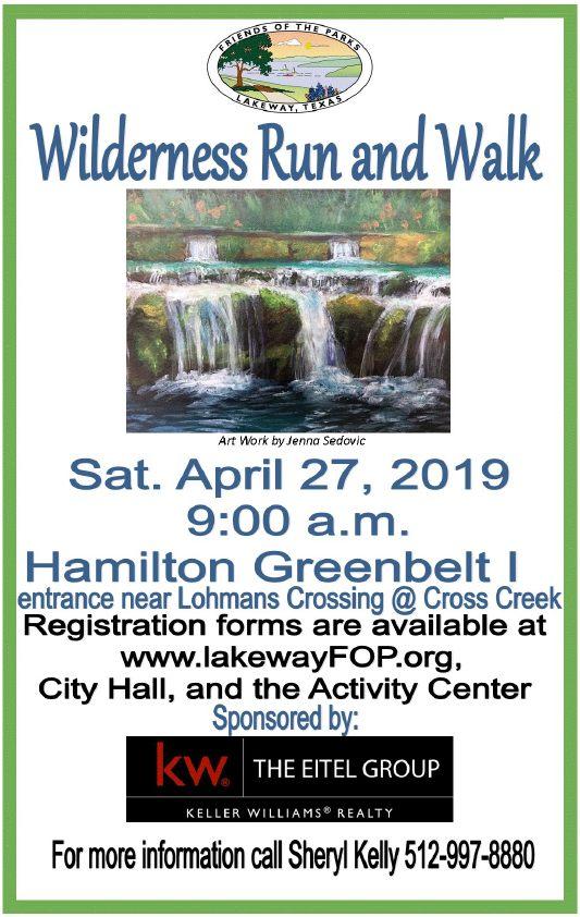 Hurst Creek Waterfall painting by Jenna Sedovic, LTHS Senior (click to enlarge)