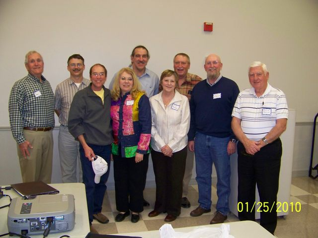 Old and New Board members (click to enlarge)