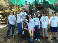 Volunteers at Dragon Park (click to enlarge)