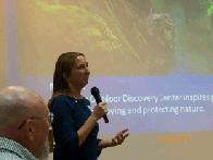 Guest speaker Amber Gosselin (click to enlarge)
