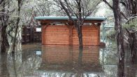 Flooded Bird Blind (click to enlarge)