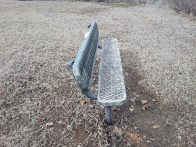 Bench before cleaning (click to enlarge)