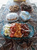 Fruit and dessert plates (click to enlarge)