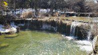 Hurst Creek waterfall near Sailmaster trailhead (click to enlarge)